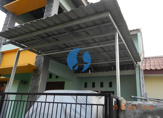 Borongan Pembuatan Kanopi Baja Ringan di Cilodong Depok